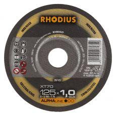 Rhodius XT70 doorslijpschijf 125 x 1,5 mm