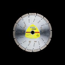 DT 900 FL diamantschijf gesl. rand met laser sleuven
