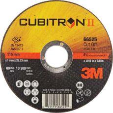 3M™ Cubitron™ II doorslijpschijf T41, 115 x 1,6 mm