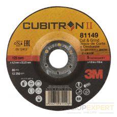 3M™ Cubitron™ II Cut & Grind schijf T27, 125 x 4,2 mm