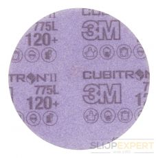 3M™ Cubitron™ II Hookit schuurschijf 775L 150 mm 120+