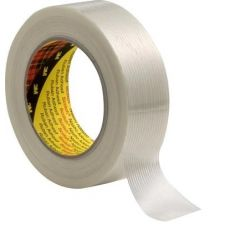 3M Scotch vezelversterkte tape 8956 wit 50mm x 50m x 0,12mm