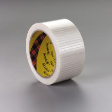 3M Scotch kruisgeweven vezelversterkte tape transparant 50mm x 50m