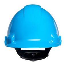 3M PELTOR G3000NUV-BB veiligheidshelm met draaiknop blauw