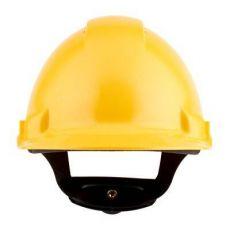 3M PELTOR G3000NUV-GU veiligheidshelm met draaiknop geel