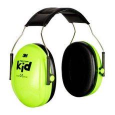 3M PELTOR Kid Gehoorkap met hoofdband, H510AK-442-GB, Neon-Groen, 27 dB