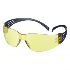 3M SecureFit 100 Veiligheidsbril blauw/amber krasbestendig en condenswerend