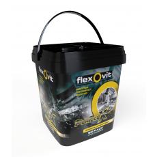 Emmer met 50 stuks Flexovit Perflex schijven 125 x 1,0 MM + gratis powerbank