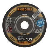 Rhodius XT10 doorslijpschijf 125 x 1,0mm