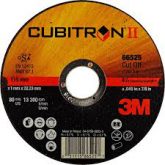 3M™ Cubitron™ II doorslijpschijf T41, 125 x 1,6 mm