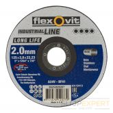 Flexovitdoorslijpschijfvlak Long Lifeinox A24V 125x2x22,23 T41